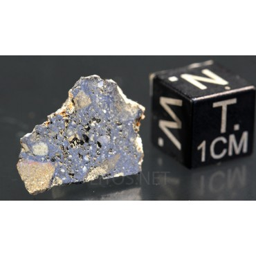 Meteorito lunar brecha anortosita
