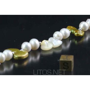 Pulsera de perla cultivada