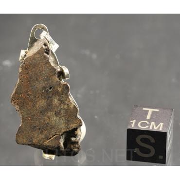 Colgante de meteorito rocoso