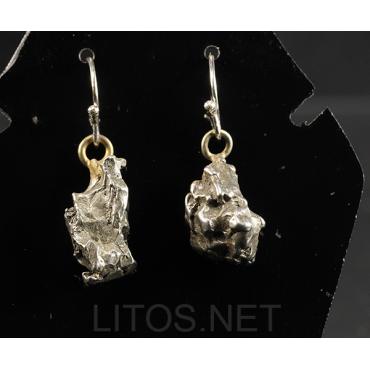 Pendientes de meteorito