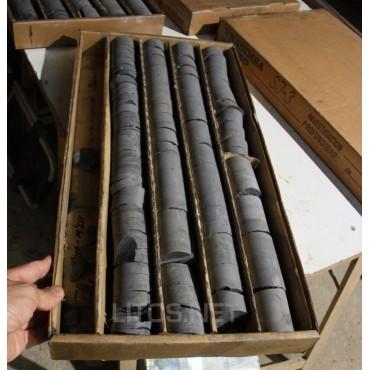 Cajas de testigos mineros