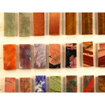Coleccion piedras pulidas