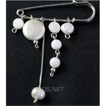 Broche de perlas