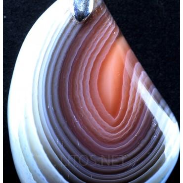 Colgante de ágata