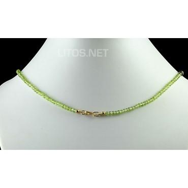 Collar de Peridoto y Amatista J434