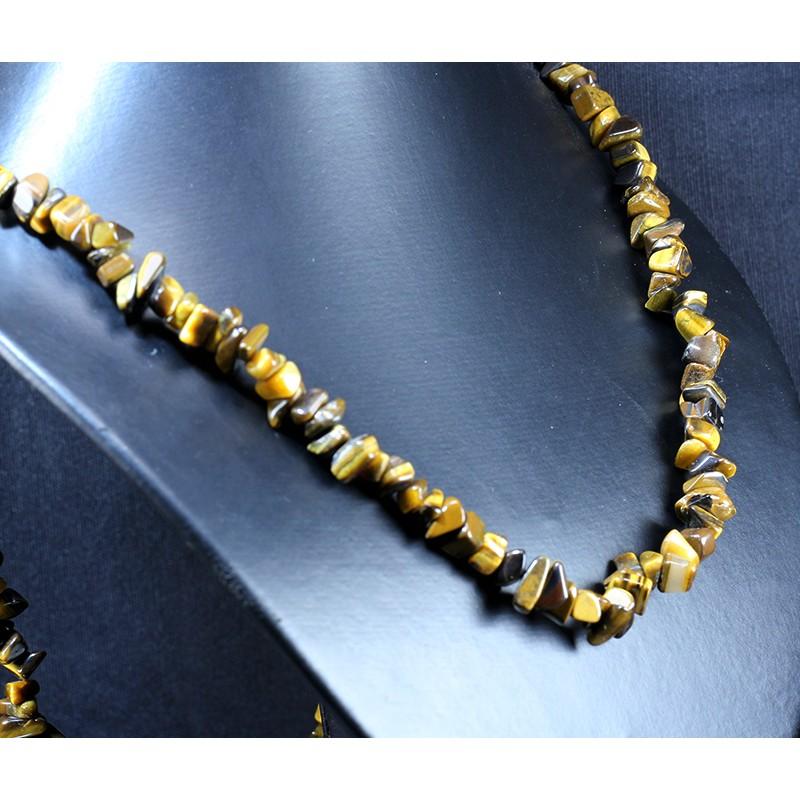 Collar de Ojo de Tigre J2933