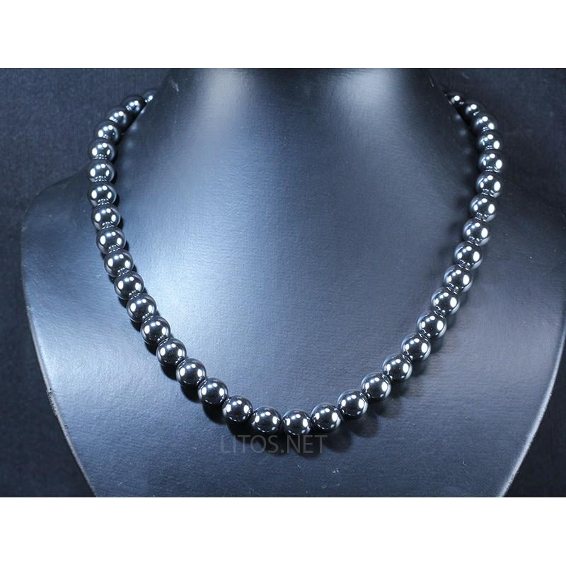 Collar de Hematite J2934