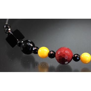 Collar de minerales J3451