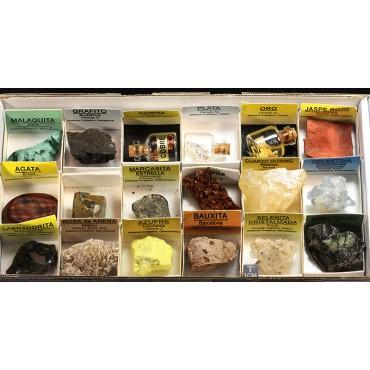 Colección de minerales X1977