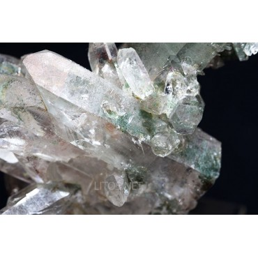 Mineral cuarzo cristal de roca