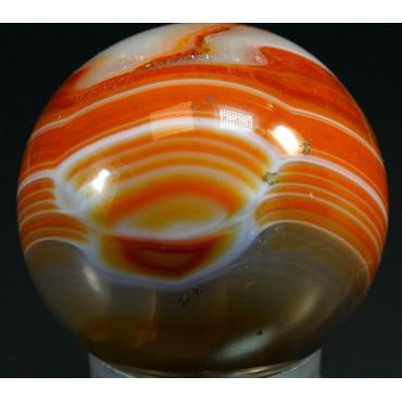 Esfera de ágata