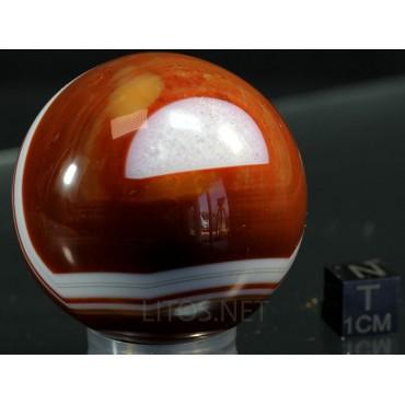 Mineral esfera de ágata