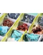 Minerales de iniciación y rocas